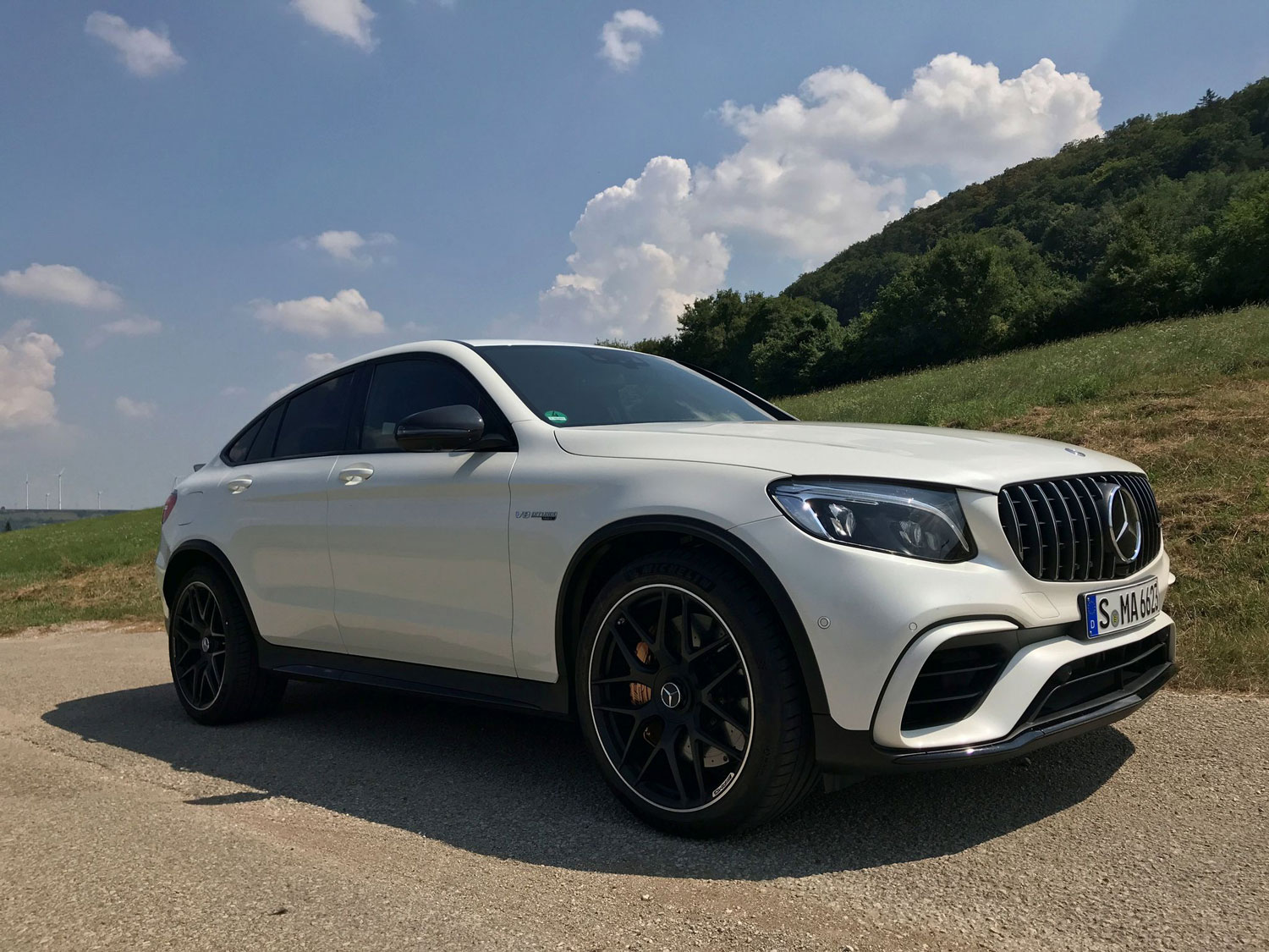 Новий Mercedes-AMG GLC 63 S 4MATIC екстер'єр