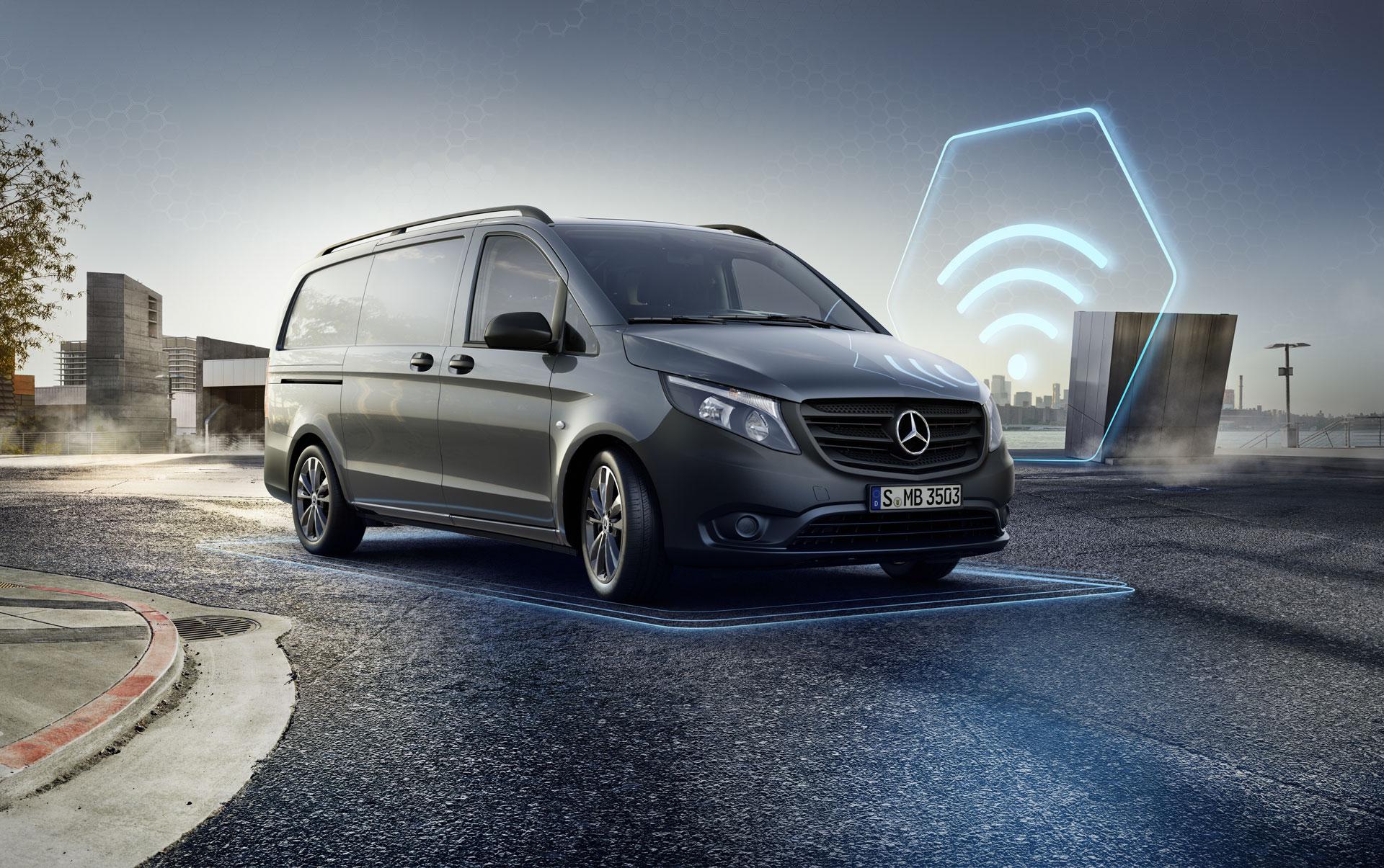 Новий Mercedes-Benz Vito з поліпшеним двигуном і набором цифрових функцій