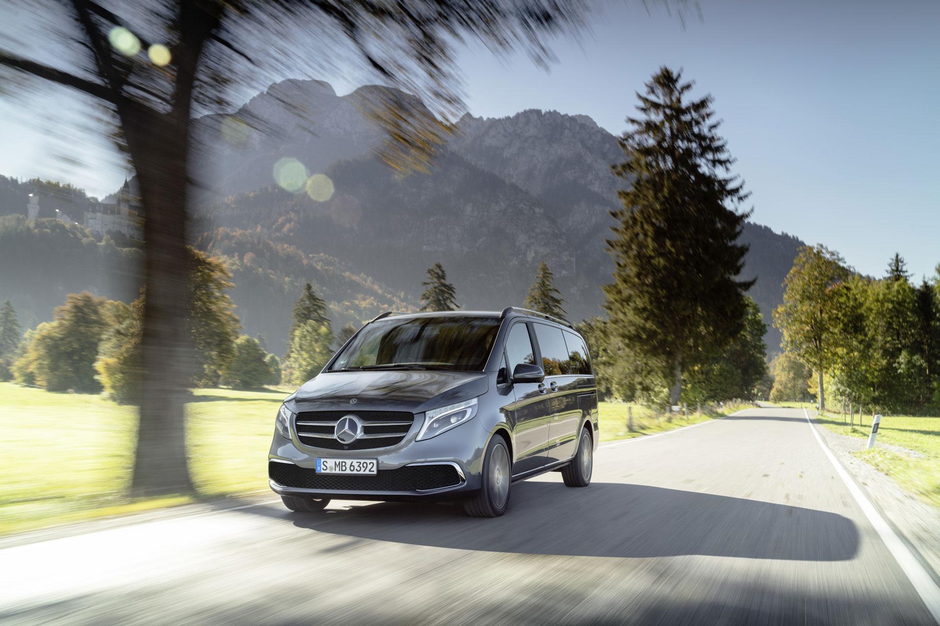 Новый Mercedes-Benz V-Class уже доступен к заказу в Европе