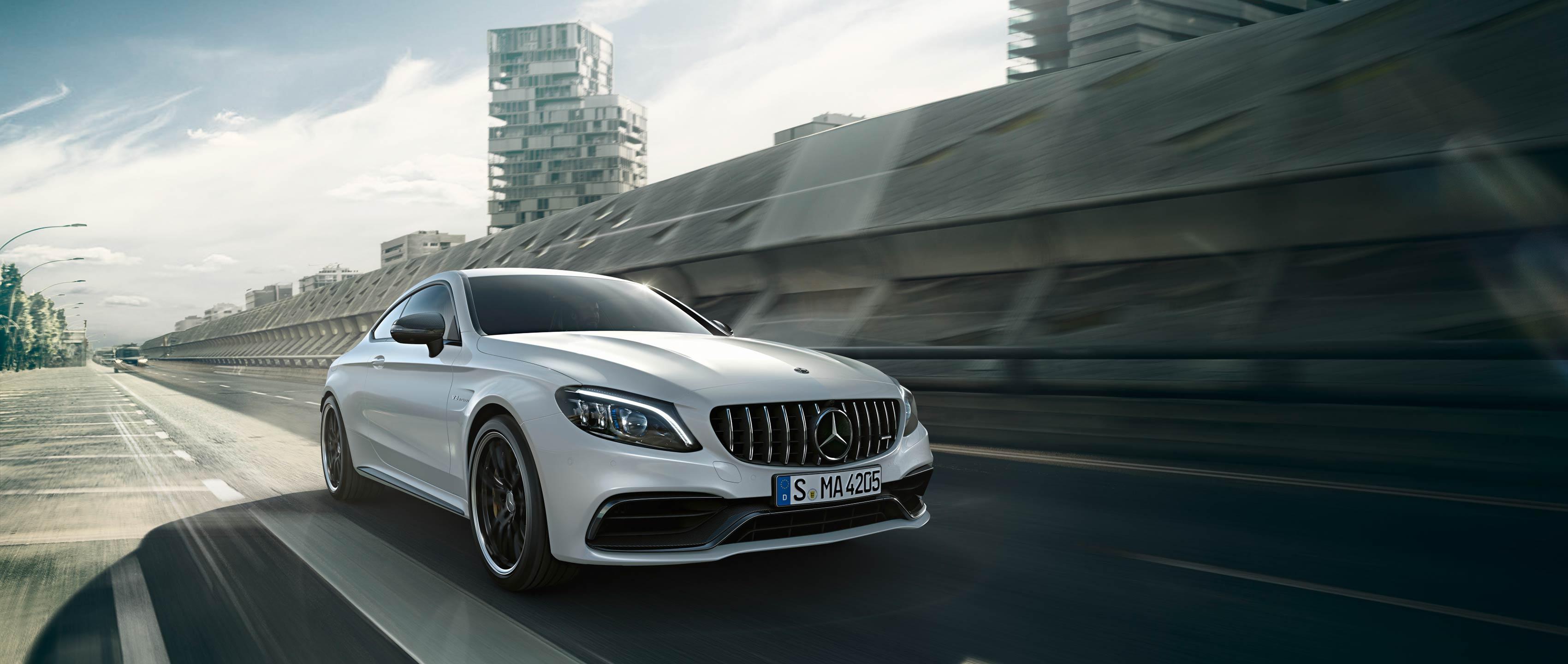 Новые модели Mercedes-AMG C 63
