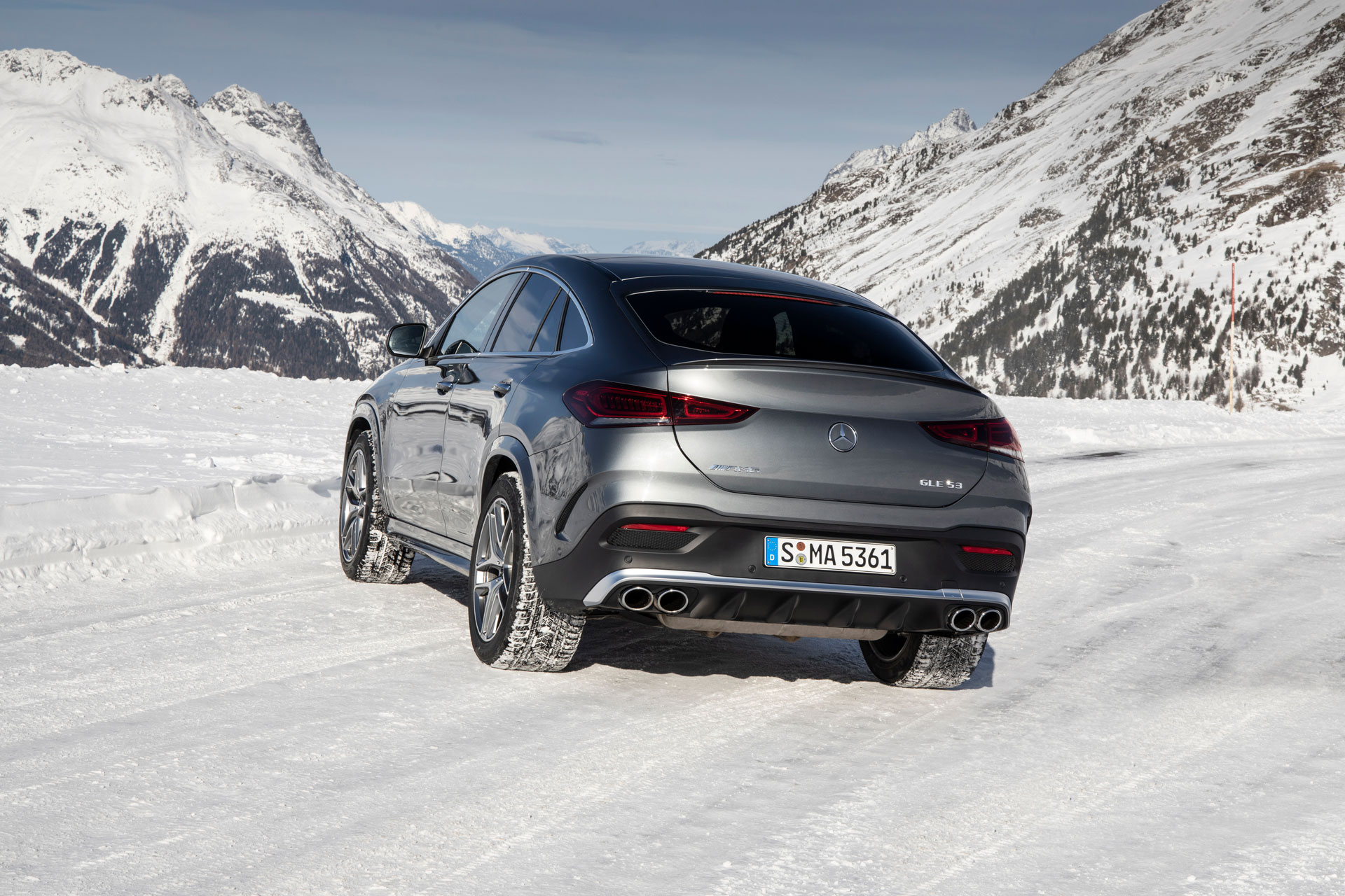 Mercedes-AMG GLE Coupe полный привод
