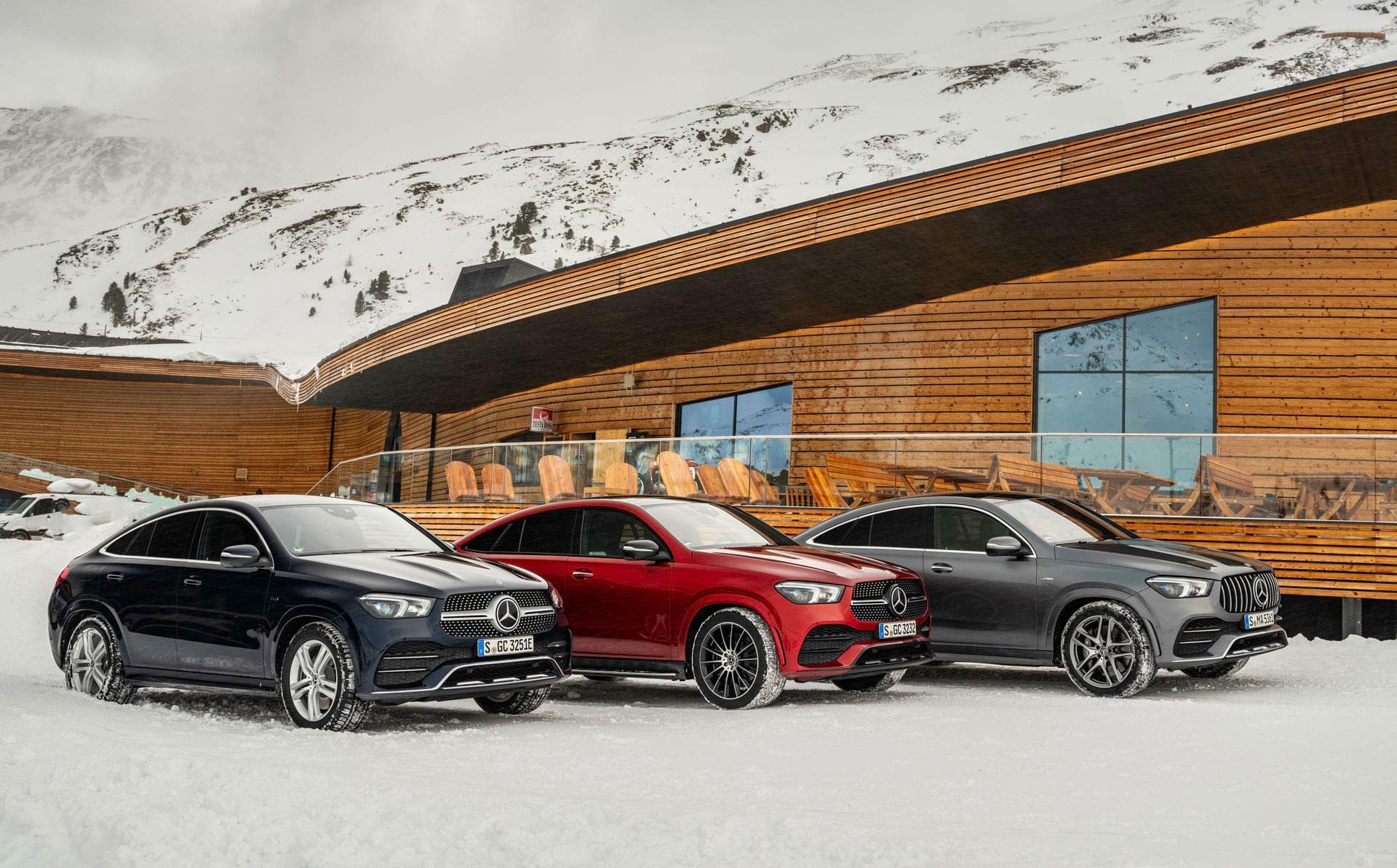 Mercedes-Benz GLE Coupe спортивна елегантність нового покоління