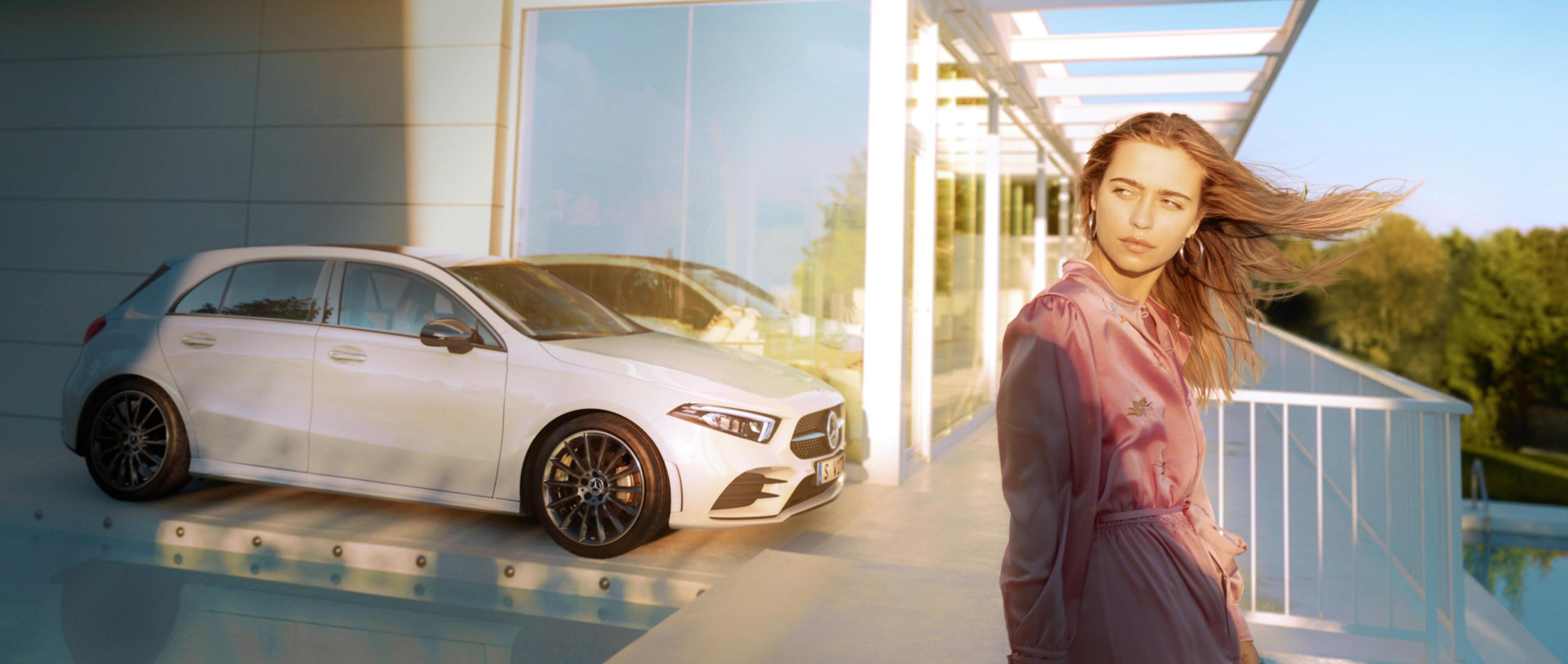 Mercedes-Benz запустили новую рекламную кампанию с Ники Минаж для A-Class