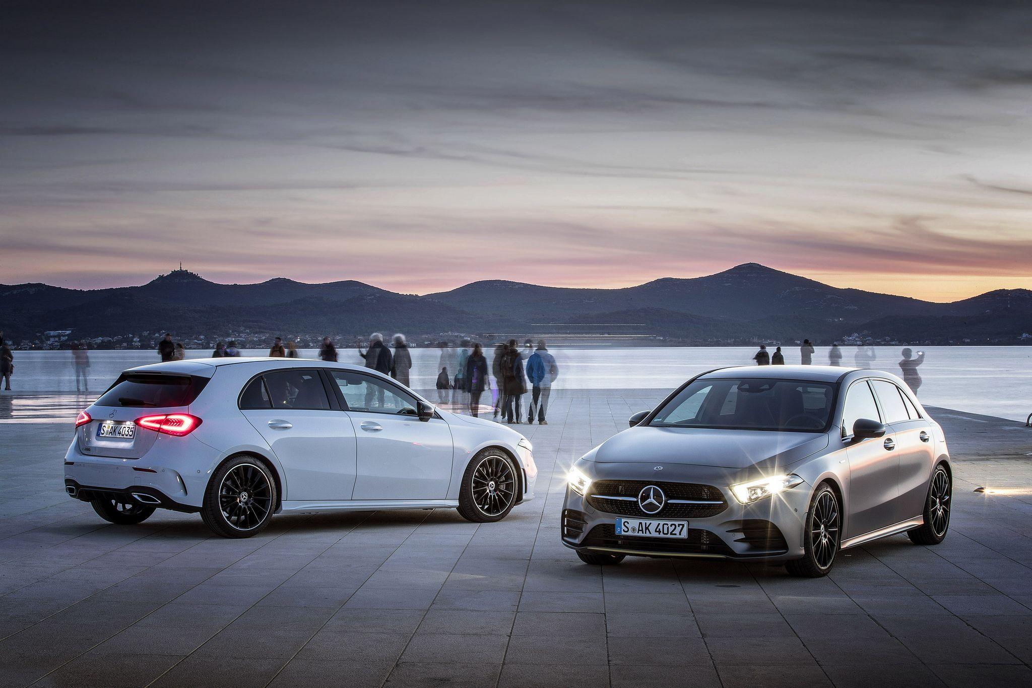 Новый Mercedes–Benz A–Class версии A 220 4MATIC и A 250 4MATIC доступны к заказу