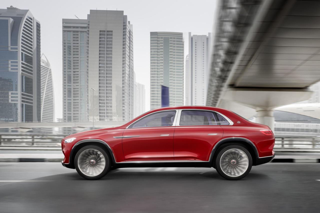 Новий автомобіль Vision Mercedes-Maybach Ultimate Luxury диски