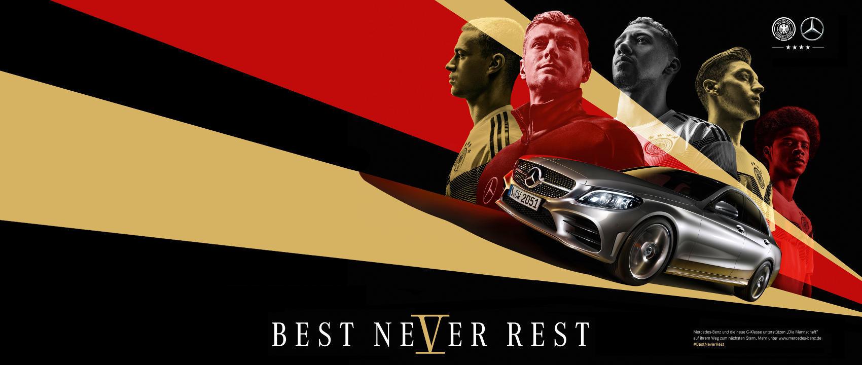 Mercedes-Benz готовит кампанию  к Чемпионату мира по футболу-2018