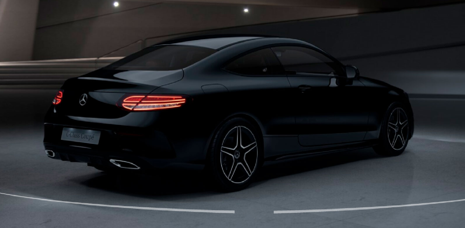 Mercedes-Benz C-Class Coupe інтер'єр
