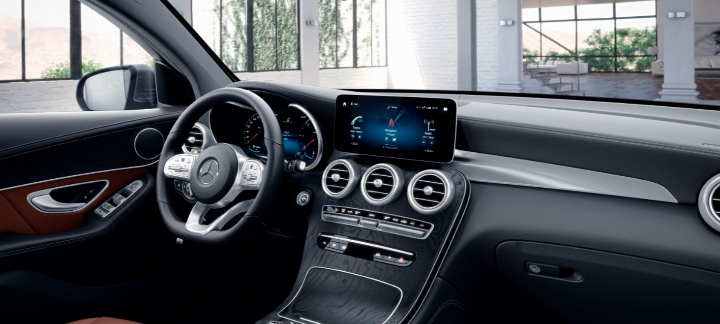 Mercedes-Benz GLC Coupe кокпит