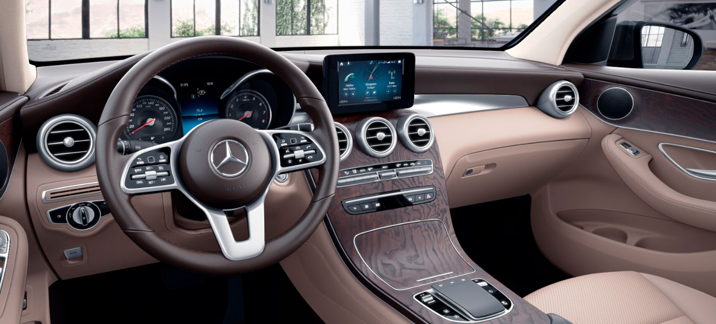 Mercedes-Benz GLC Coupe інтерєр