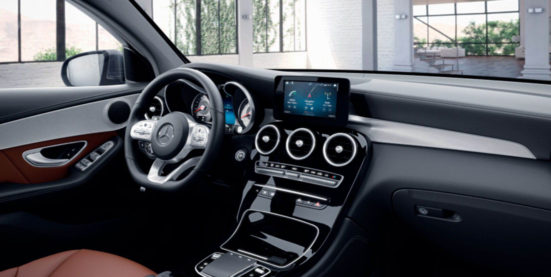 Mercedes-Benz GLC Coupe салон