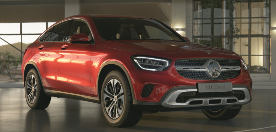 Mercedes-Benz GLC Coupe спереди