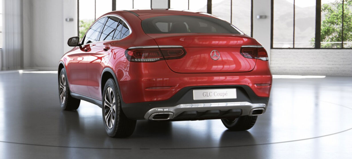 Mercedes-Benz GLC Coupe сзади