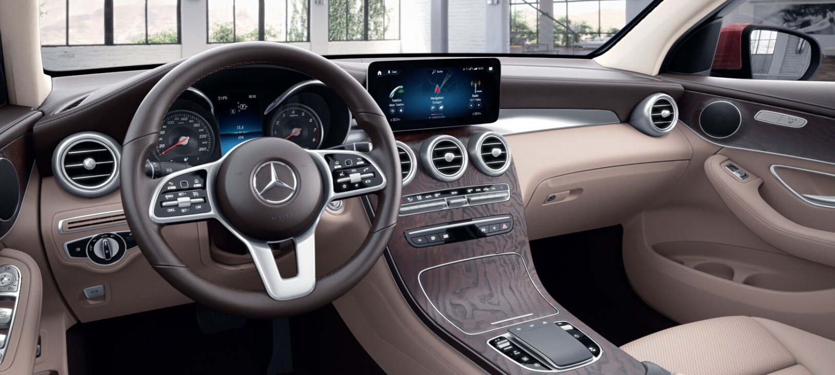 Mercedes-Benz GLC Coupe кокпіт