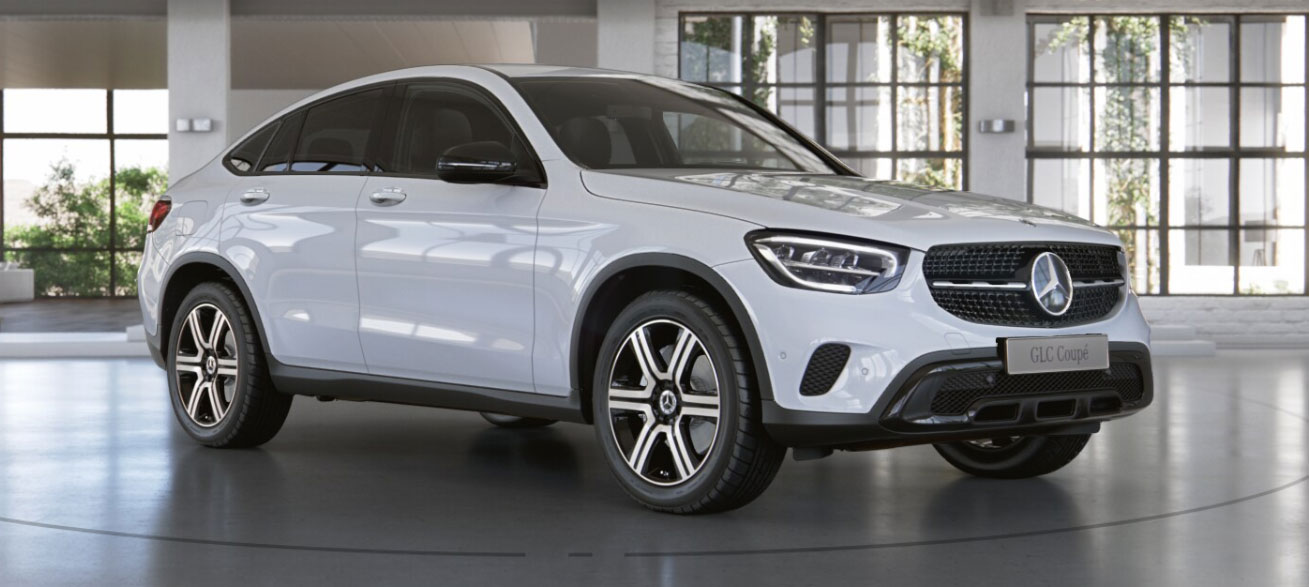Mercedes-Benz GLC Coupe фото 1