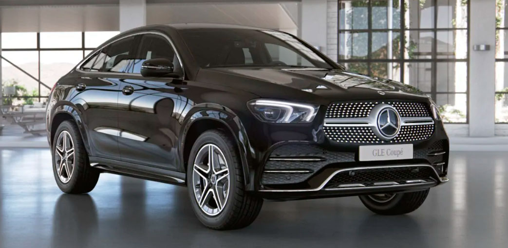 Mercedes-Benz GLE Coupe вид спереди