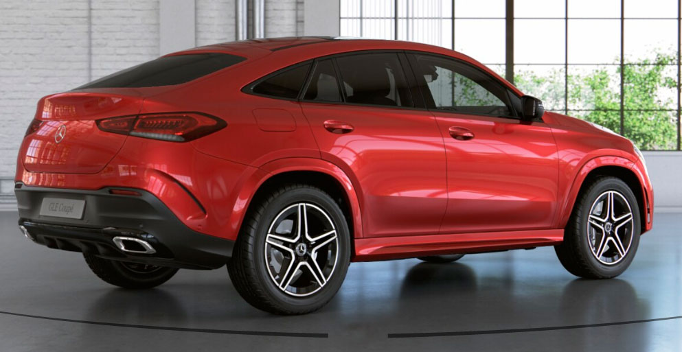 Mercedes-Benz GLE Coupe вид збоку