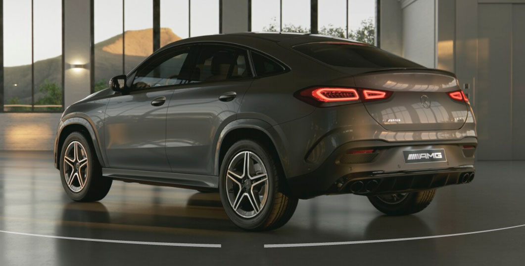 Mercedes-AMG GLE Coupe задние фары
