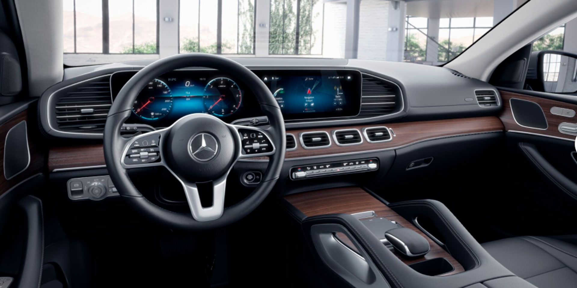Mercedes-Benz GLE Coupe кокпіт