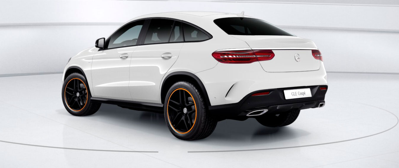 Mercedes-Benz GLE Coupe вид сбоку