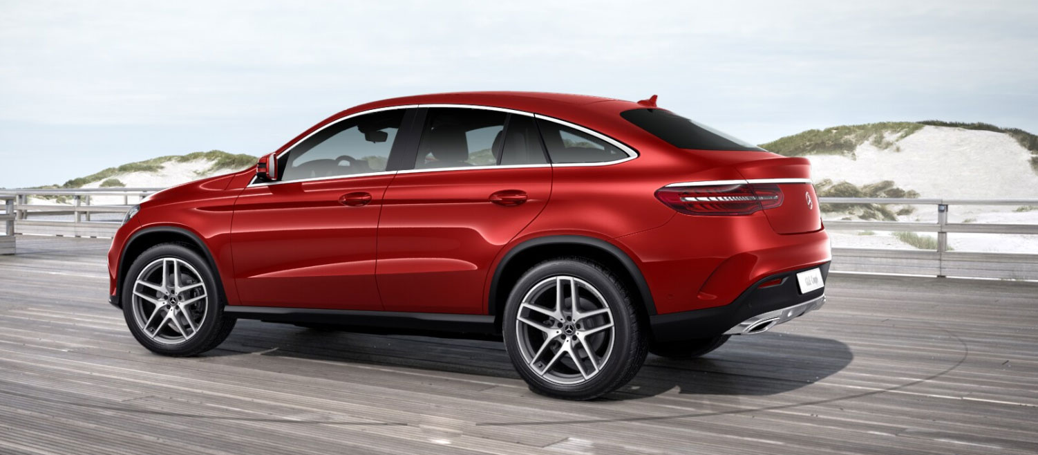 Mercedes-Benz GLE Coupe вигляд ззаду
