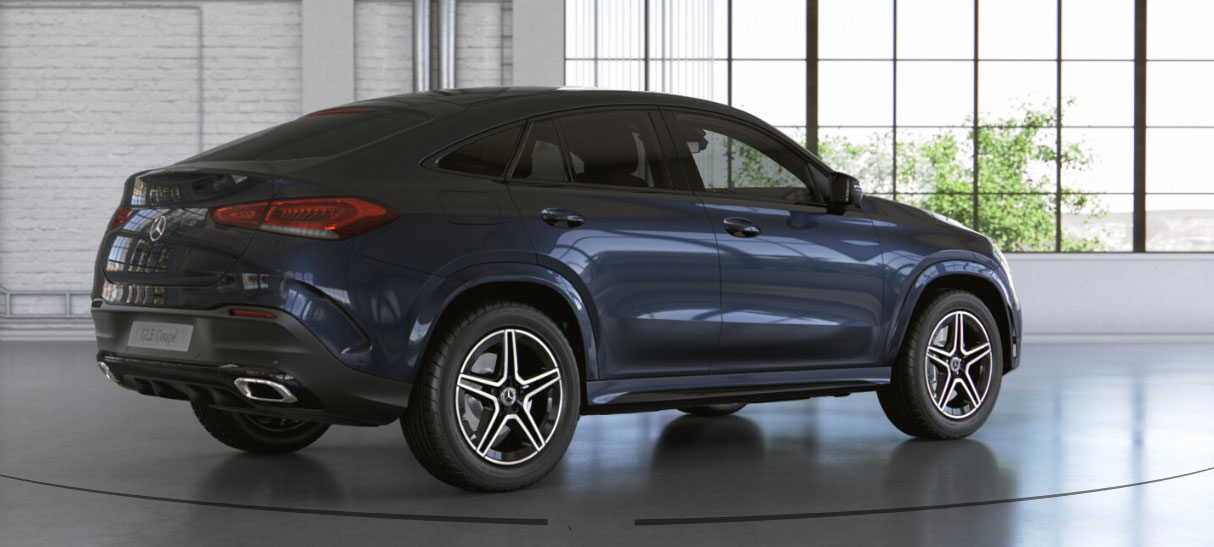 Mercedes-Benz GLE Coupe вид ззаду