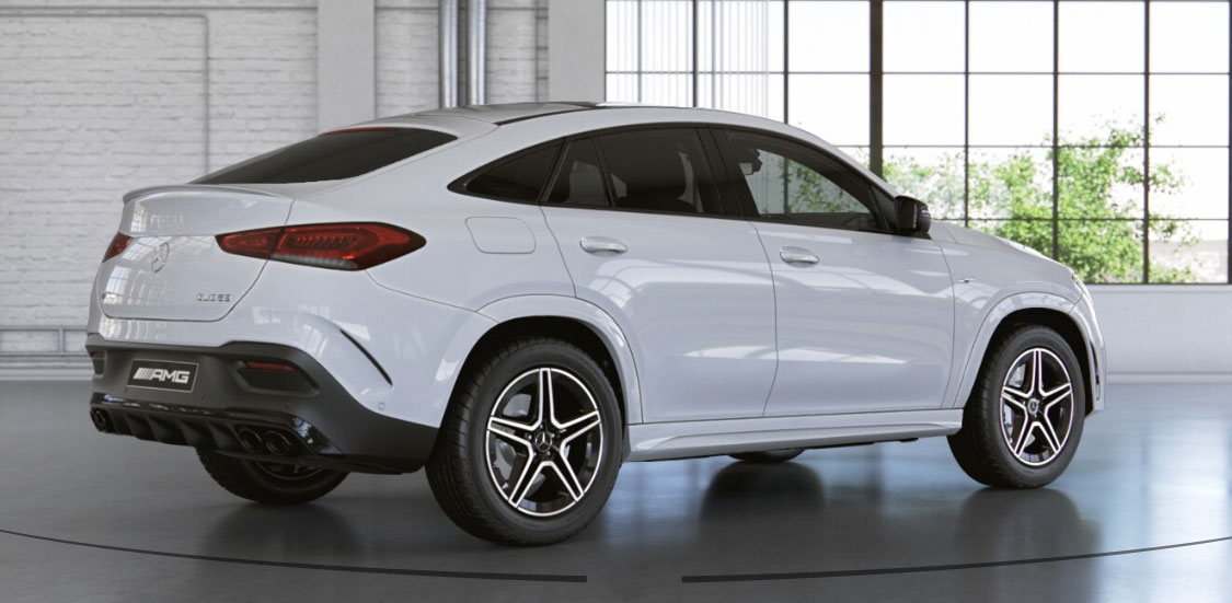 Mercedes-AMG GLE Coupe вид ззаду