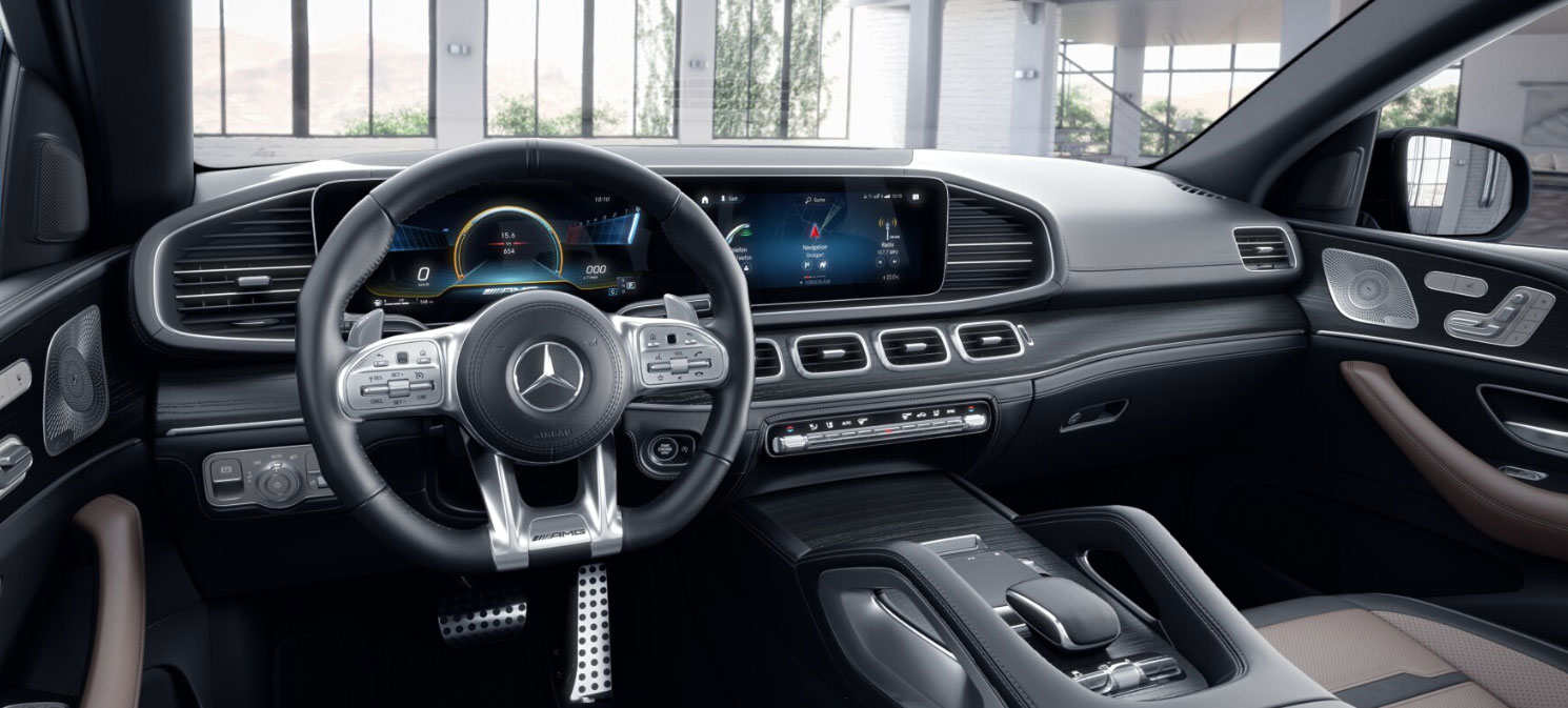 Mercedes-AMG GLE Coupe интерьер