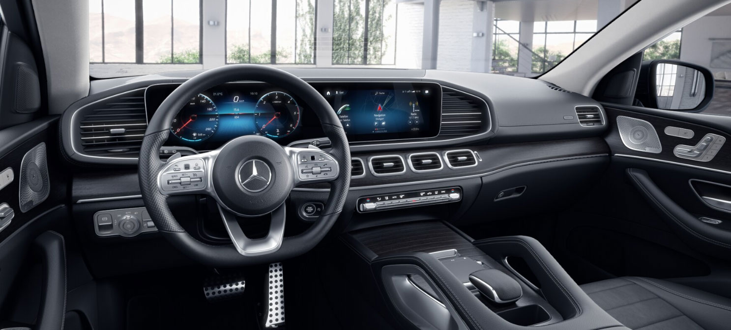 Mercedes-Benz GLE Coupe інтерєр