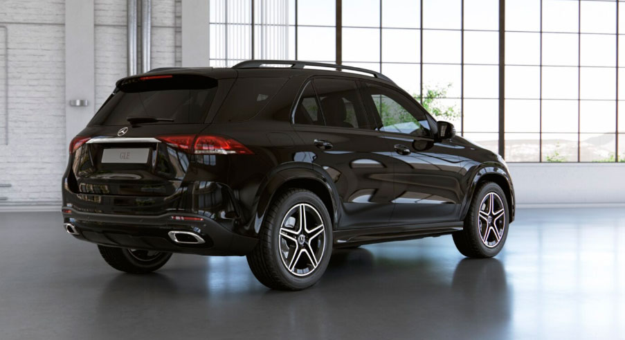 Mercedes-Benz GLE ззаду