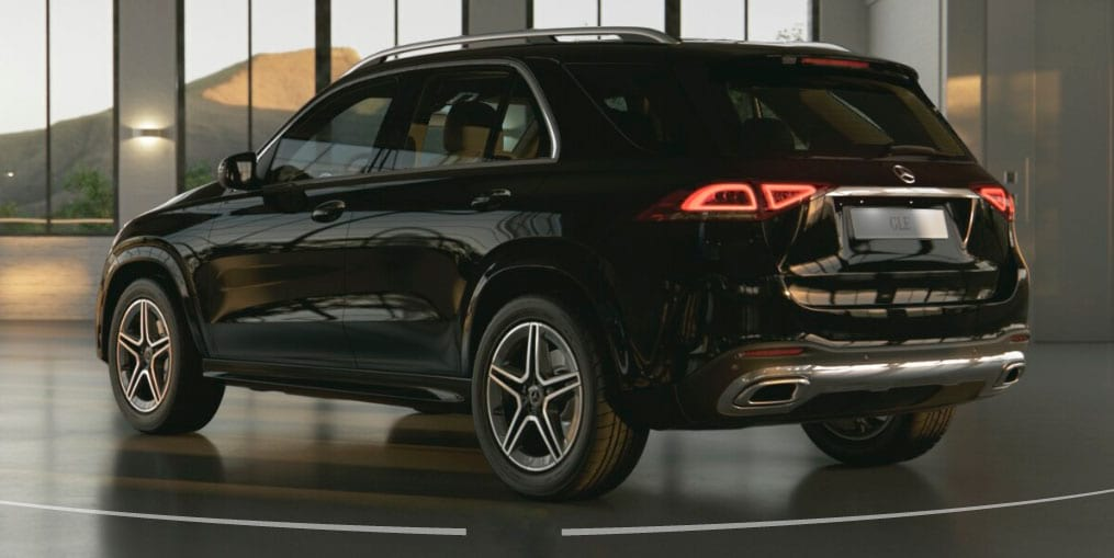 Mercedes-Benz GLE задній бампер