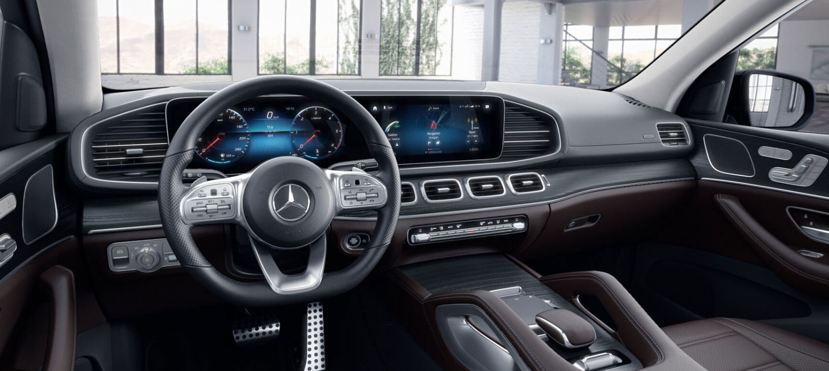 Mercedes-Benz GLS 2019 салон