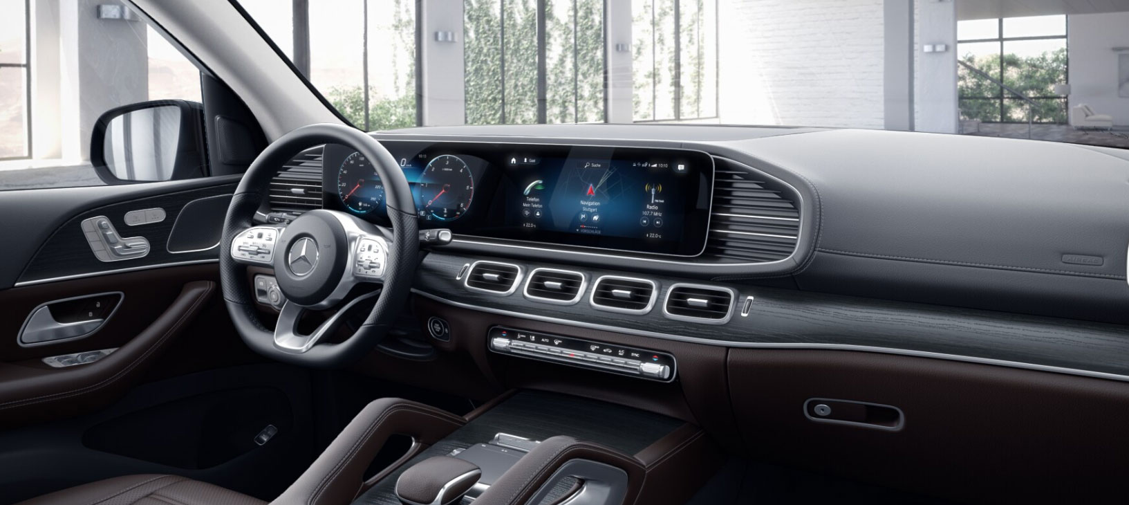 Mercedes-Benz GLS 2019 кокпит